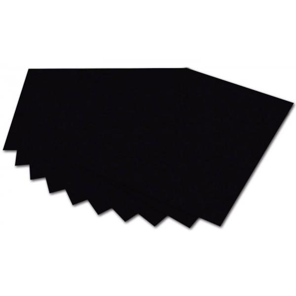 folia Fotokarton, DIN A4, 300 g/qm, schwarz