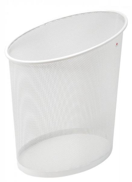 ALBA Papierkorb ´MESHCORB´, aus Drahtmetall, 18L, weiß