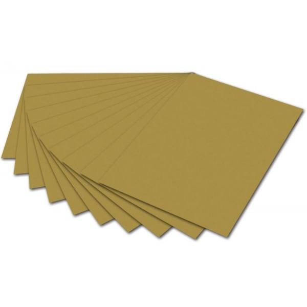 folia Fotokarton, DIN A4, 300 g/qm, gold
