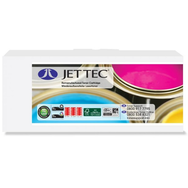 JET TEC Toner B2110 ersetzt brother TN-2110, schwarz