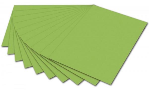 folia Fotokarton, DIN A4, 300 g/qm, hellgrün