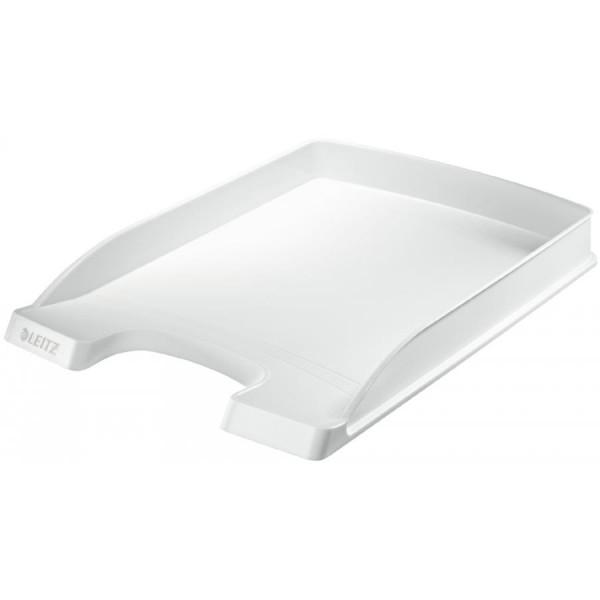 LEITZ Briefablage Plus Flach, DIN A4, Polystyrol, grau