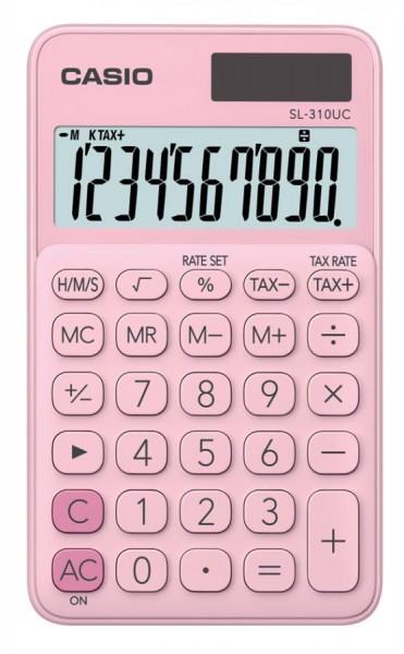 CASIO Taschenrechner SL-310UC-PK, pink