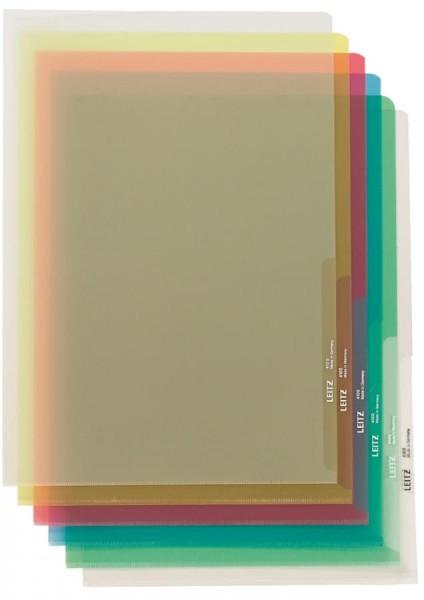 LEITZ Sichthülle Premium, A4, PVC, genarbt, 0,10 mm