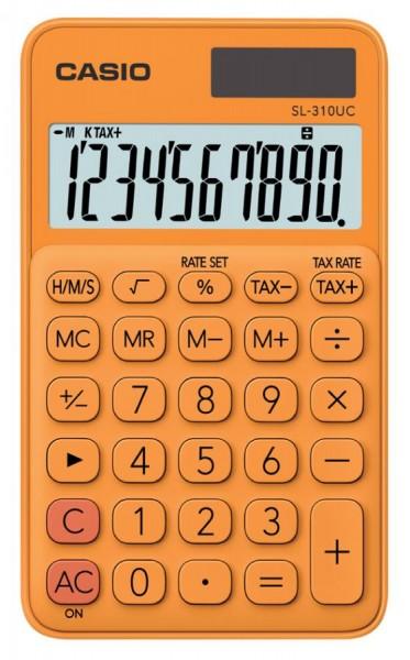 CASIO Taschenrechner SL-310UC-RG, orange