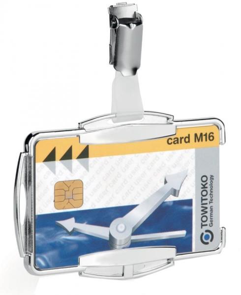 DURABLE Ausweishalter ´RFID SECURE DUO´, für 2 Ausweise