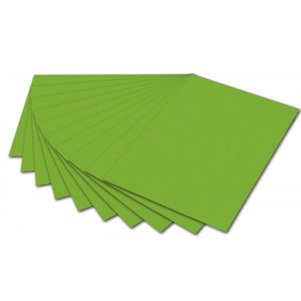 folia Fotokarton, DIN A4, 300 g/qm, grasgrün