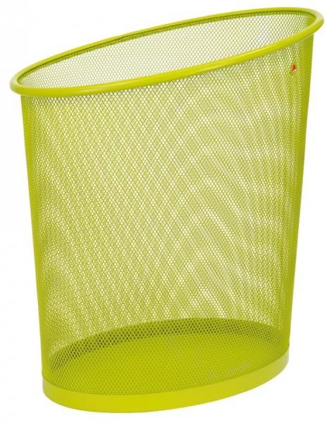 ALBA Papierkorb ´MESHCORB´, aus Drahtmetall, 18 Liter, grün