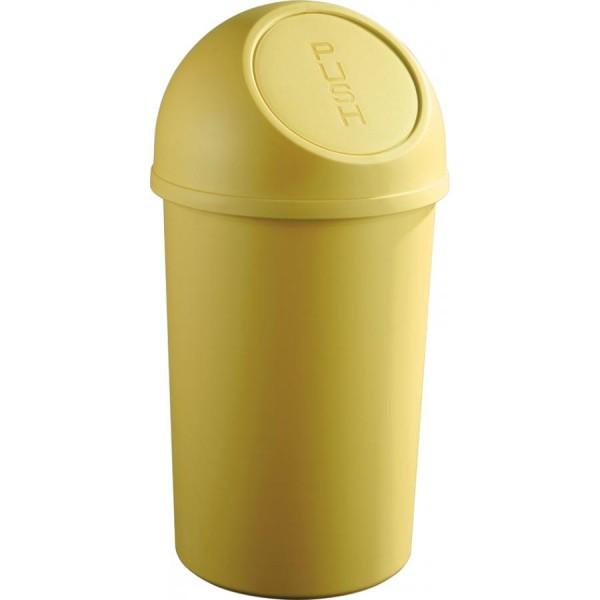 helit Abfalleimer ´the flip´, 45 Liter, lichtgrau