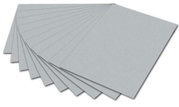 folia Fotokarton, DIN A4, 300 g/qm, silber