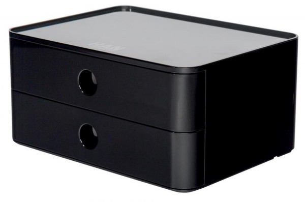 HAN Schubladenbox SMART-BOX ALLISON, stapelbar, jet black