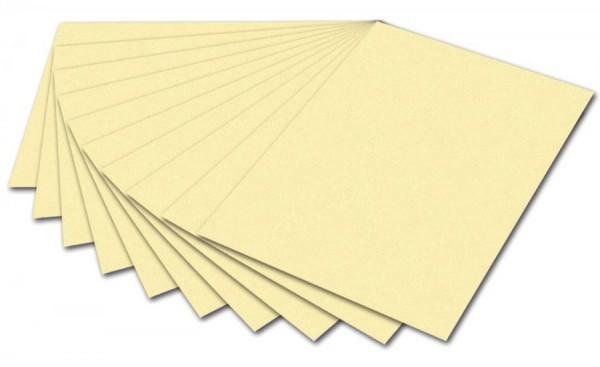 folia Fotokarton, DIN A4, 300 g/qm, strohgelb