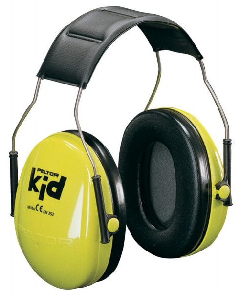 3M Peltor kid Kapsel-Gehörschutz H510, neongrün / schwarz