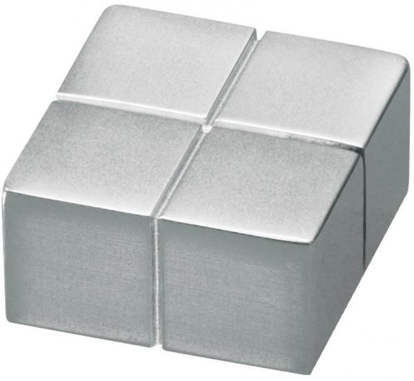 sigel Neodym-Magnete C10, Cube Design, silber