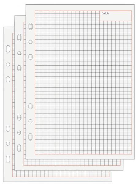 bind Ersatzeinlagen Notizblätter Manager, A6, liniert