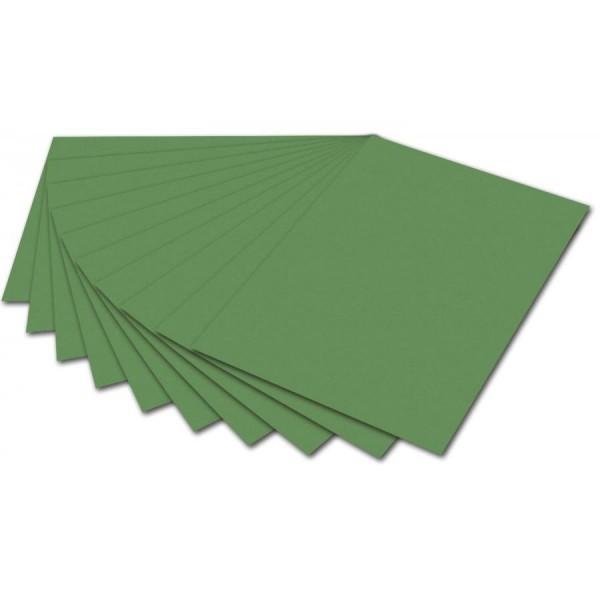 folia Fotokarton, DIN A4, 300 g/qm, moosgrün