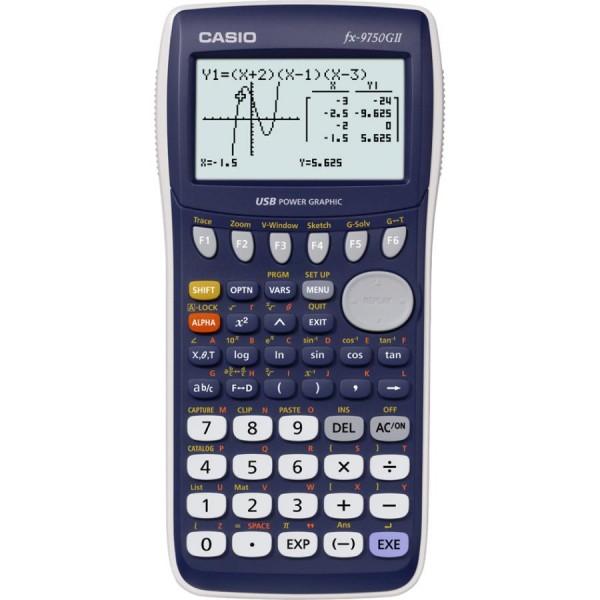 CASIO Grafikrechner FX-9750G II, Batteriebetrieb
