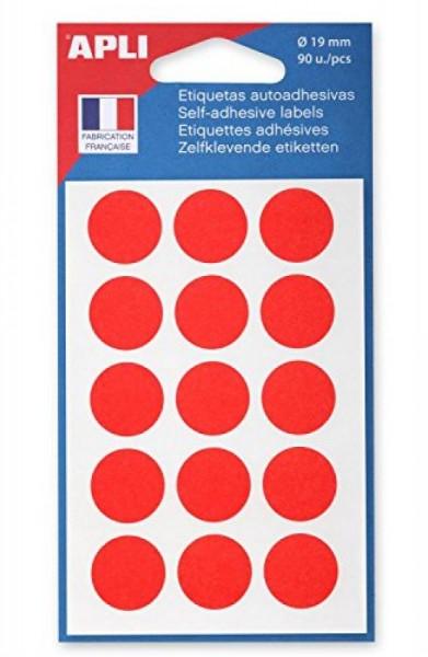 agipa Makierungspunkte, Durchmeser: 19 mm, rot