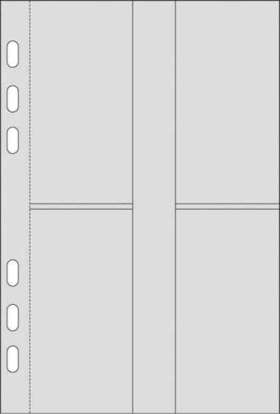 rido idé Kalender-Einlage ´Visitenkarten-Sammeltasche´