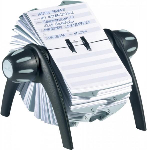 DURABLE Karteikarten für TELINDEX Adresskartei, weiß