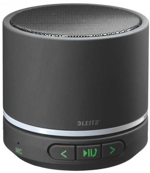 LEITZ Mini Bluetooth Lautsprecher Complete, tragbar, schwarz
