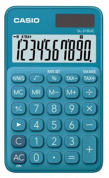 CASIO Taschenrechner SL-310UC-BU, blau