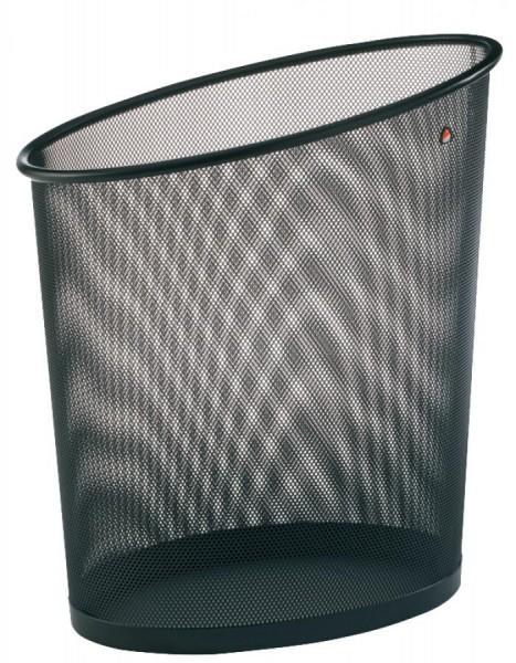 ALBA Papierkorb Mesh, aus Drahtmetall, 18 Liter, schwarz