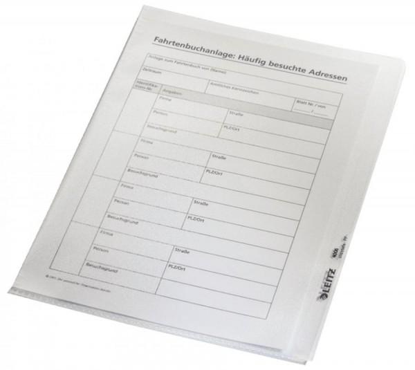 LEITZ Sichthülle Premium, A5, PVC, genarbt, 0,15 mm
