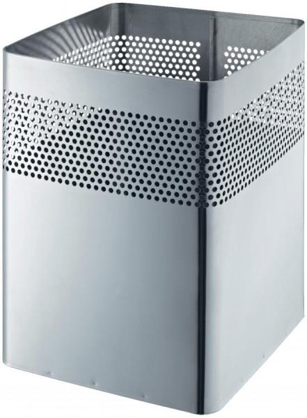 helit Edelstahl-Papierkorb ´the dot´, 18 Liter, silber