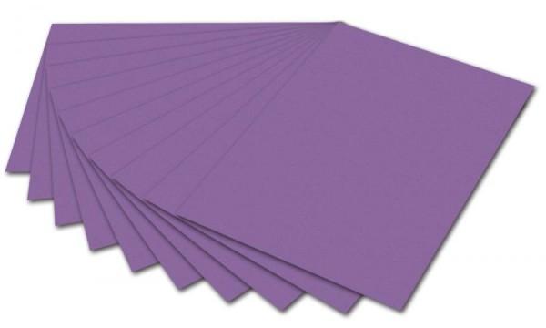 folia Fotokarton, DIN A4, 300 g/qm, flieder