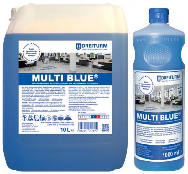 DREITURM Mehrzweckreiniger MULTI BLUE, 10 Liter