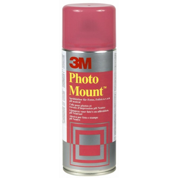 3M Scotch Sprühkleber ´Foto-Mount´, 400 ml