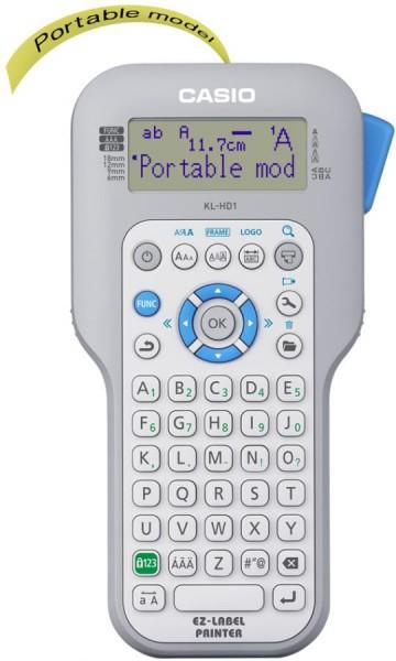 CASIO XR XR Schriftbandkassette, schwarz auf weiß, 9 mm /