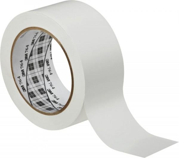 3M Weich-PVC-Klebeband 764i, 50,8 mm x 33 m, weiß