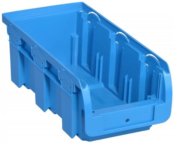 allit Sichtlagerkasten ProfiPlus Compact 2L, aus PP, blau