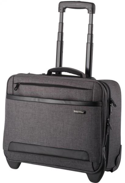 LIGHTPAK Business Notebook-Trolley ´ARKON´, Polyester, grau