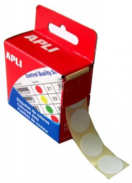 agipa Markierungspunkte, Durchmesser: 15 mm, rund, weiß