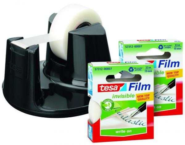 tesa Tischabroller Easy Cut Compact, Sparpack