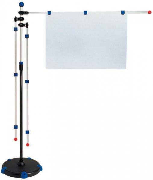 MAUL Planhalter ´Mobilpresenter´, mit Teleskopauszug, grau