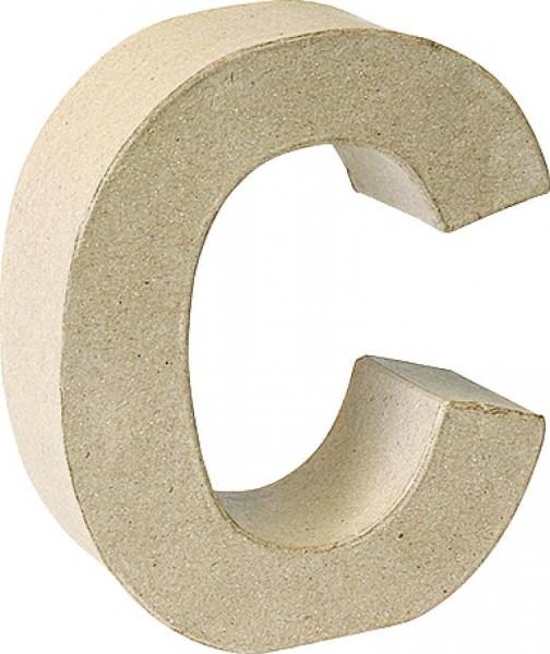 KNORR prandell 3D-Buchstabe ´C´, Pappmaché, 175 x 55 mm