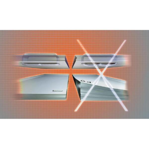 Rapid Blockheftgerät Supreme DUAX, silber/orange