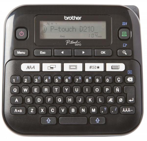 brother Tisch-Beschriftungsgerät ´P-touch D210´