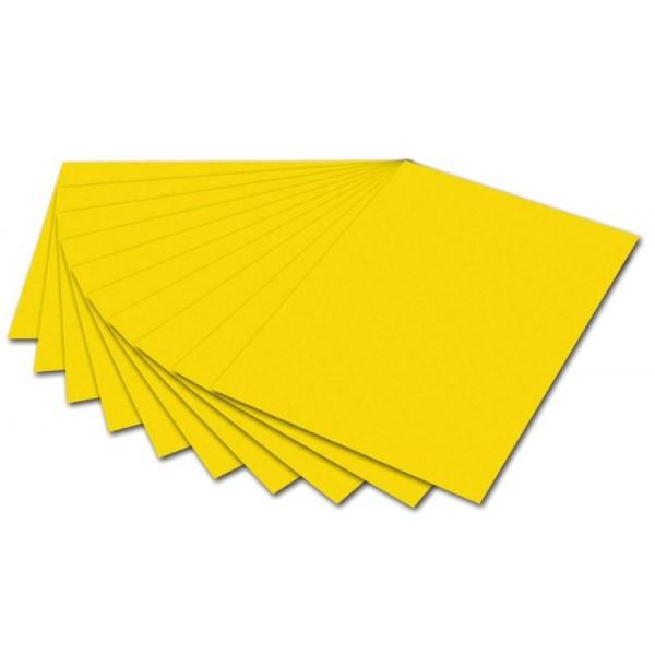 folia Fotokarton, DIN A4, 300 g/qm, bananengelb