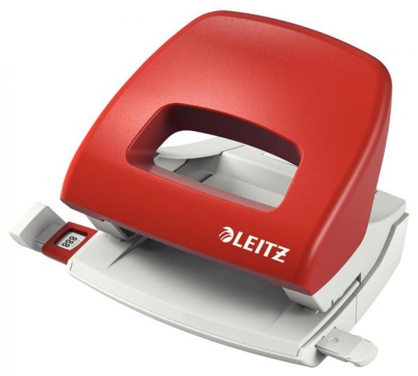LEITZ Locher Nexxt 5038, Stanzleistung: 16 Blatt, rot