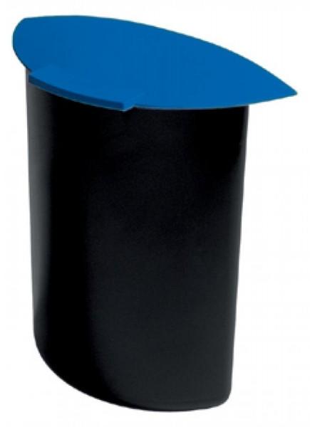 HAN Abfalleinsatz MOON, 6 Liter, mit Deckel, blau