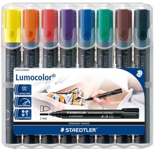 STAEDTLER Lumocolor Permanent-Marker 352, 4er Etui