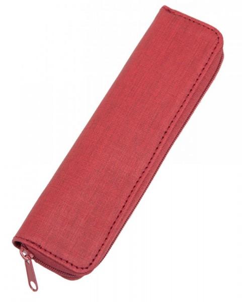 Alassio Schreibgeräte-Etui, für 2 Stifte, rot