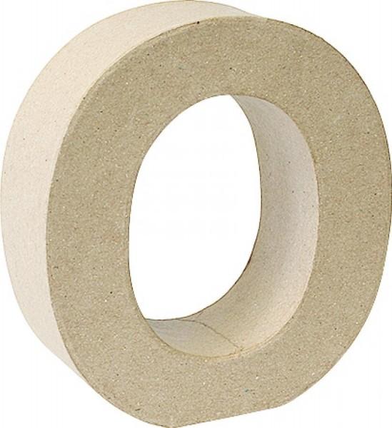 KNORR prandell 3D-Buchstabe ´O´, Pappmaché, 175 x 55 mm
