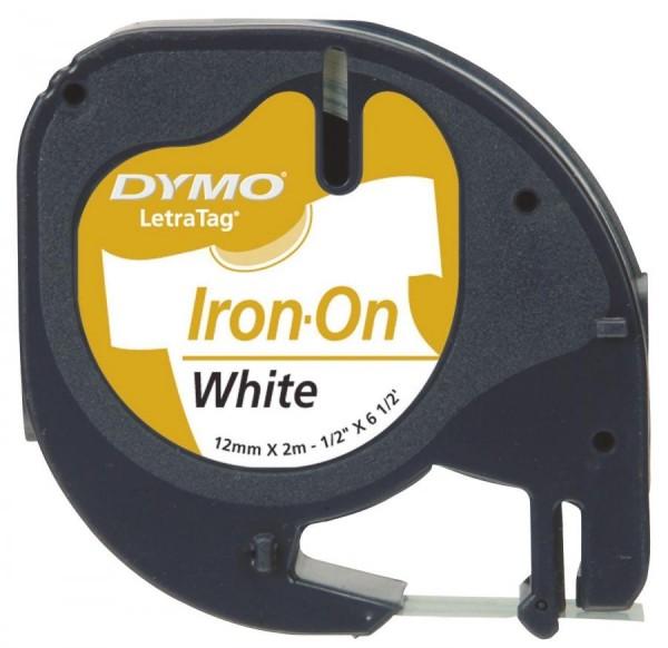 DYMO LetraTag Schriftbandkassette, aufbügelbar, 12 mm x 2 m