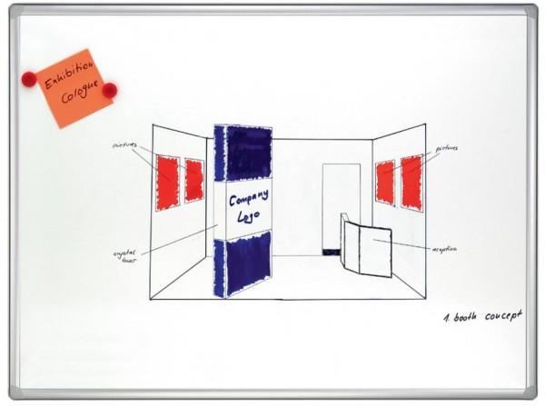 FRANKEN Weißwandtafel PRO, emailliert, 900 x 600 mm